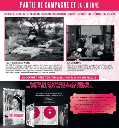 La Chienne - Partie de campagne - Annonce Blu-ray