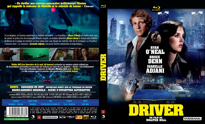 Driver - Jaquette - Blu-ray Recto Verso