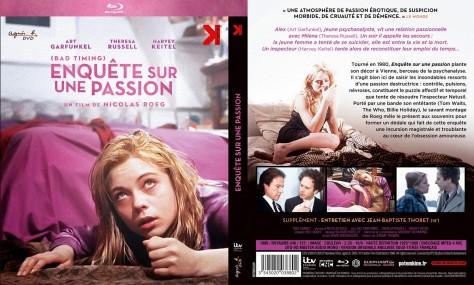Enquête sur une passion - Blu-ray - Recto Verso