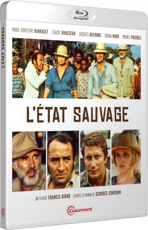 L'État sauvage - Packshot Blu-ray Gaumont Découverte