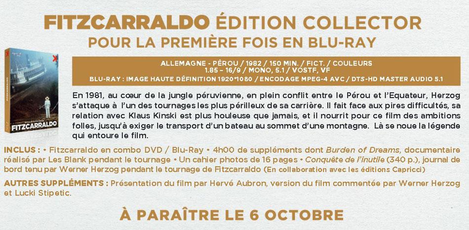 Fitzcarraldo - Annonce Blu-ray