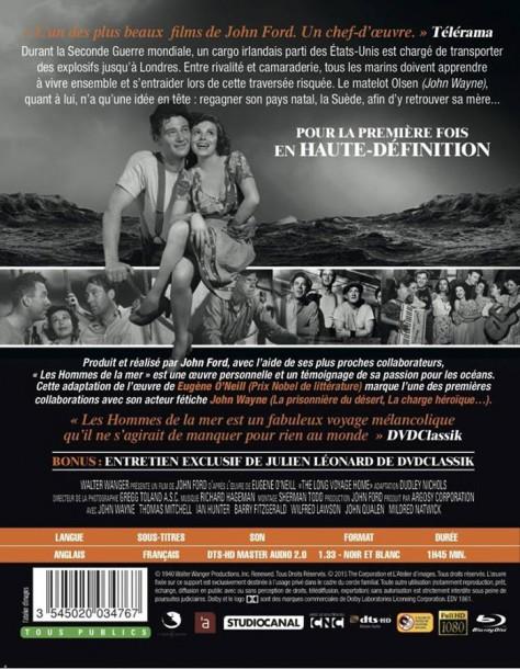 Les Hommes de la mer - Verto Blu-ray