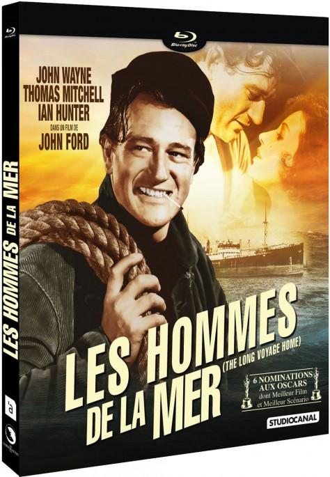 Les Hommes de la mer - Recto Blu-ray