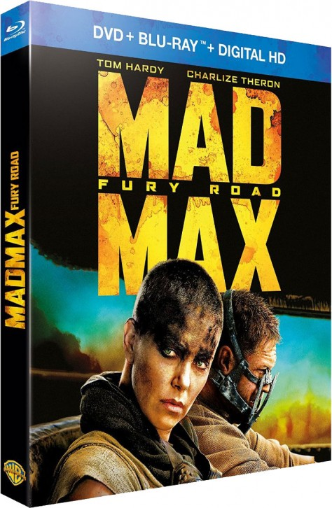 Mad Max Fury Road – Packshot Blu-ray France