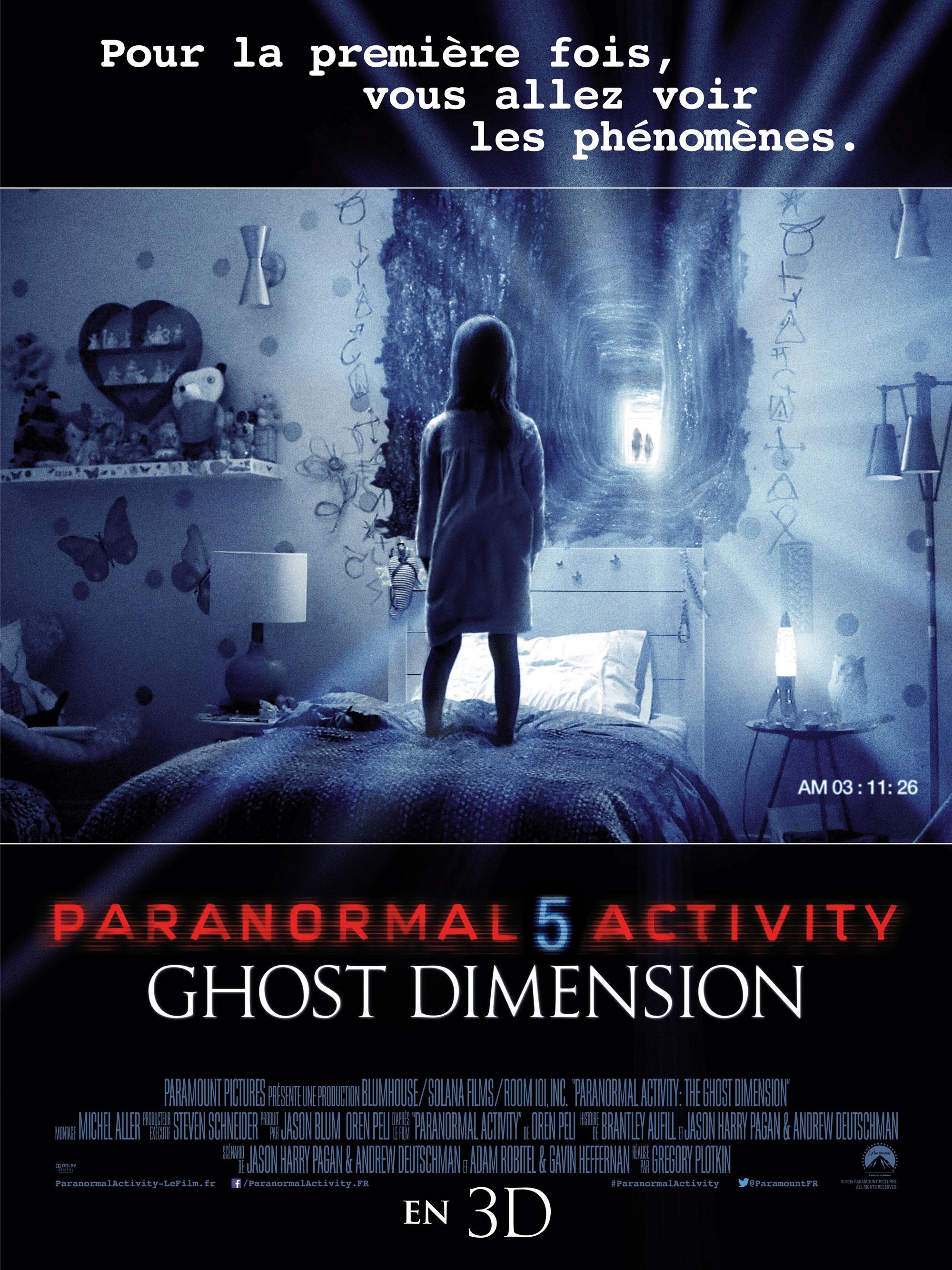 Paranormal Activity 5 - Affiche