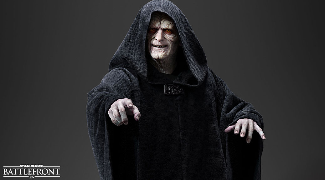 Star Wars Battlefront - Palpatine