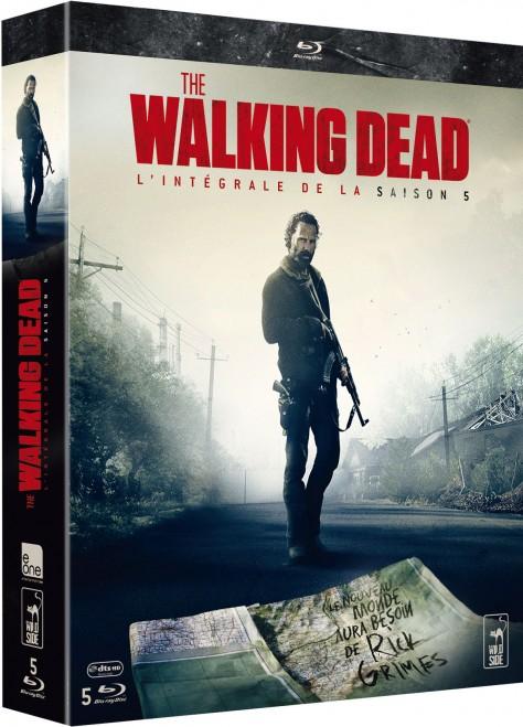 Walking Dead - Saison - Jaquette Blu-ray