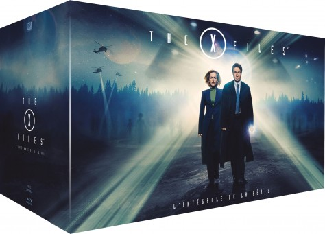 X-Files - Intégrale Blu-ray - Packshot