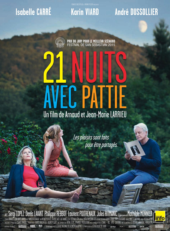 21 Nuits avec Pattie - Affiche