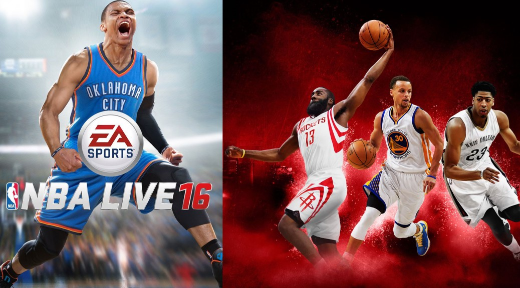 NBA 2K16 & NBA Live 16
