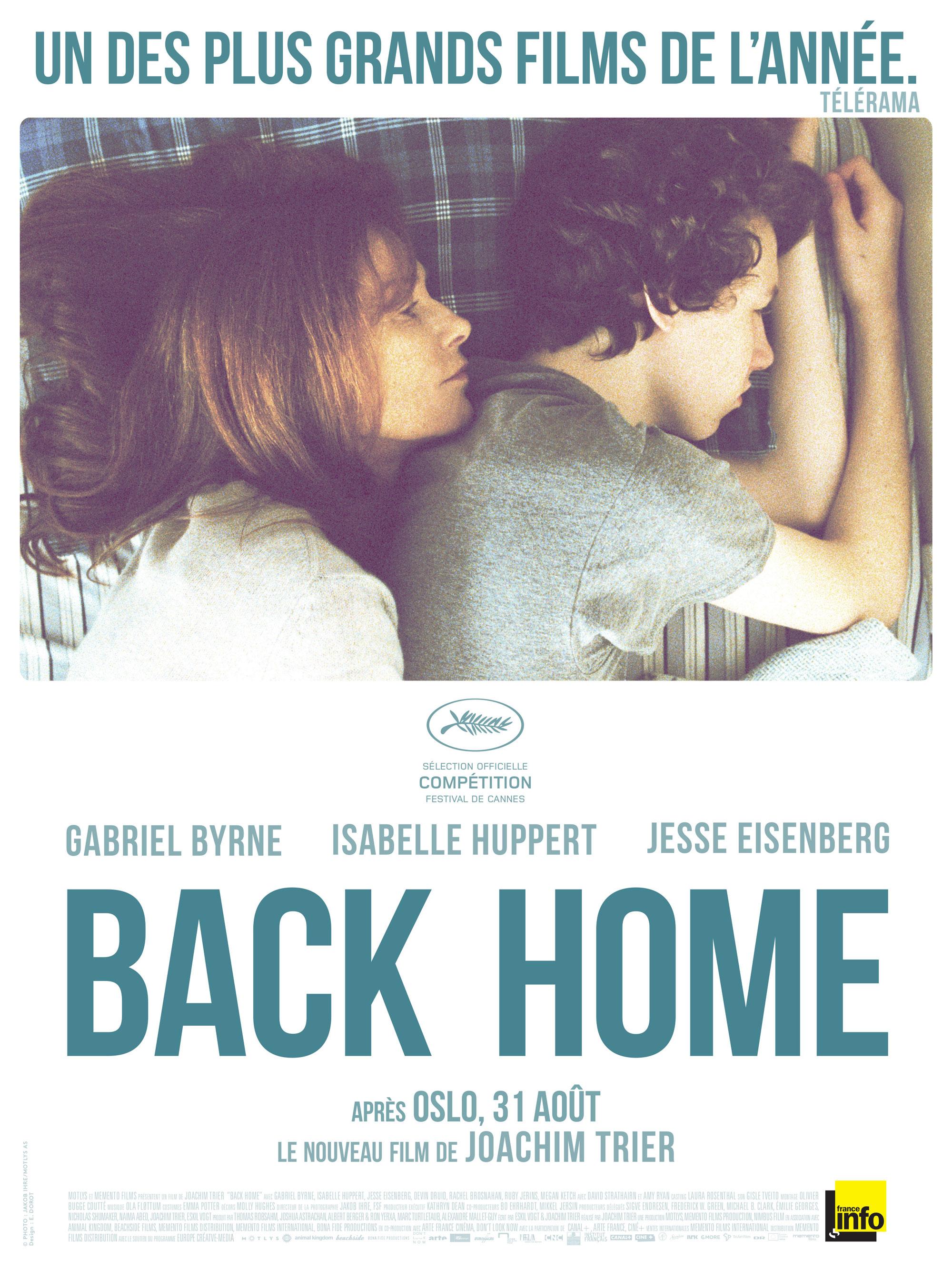 Back Home - Affiche
