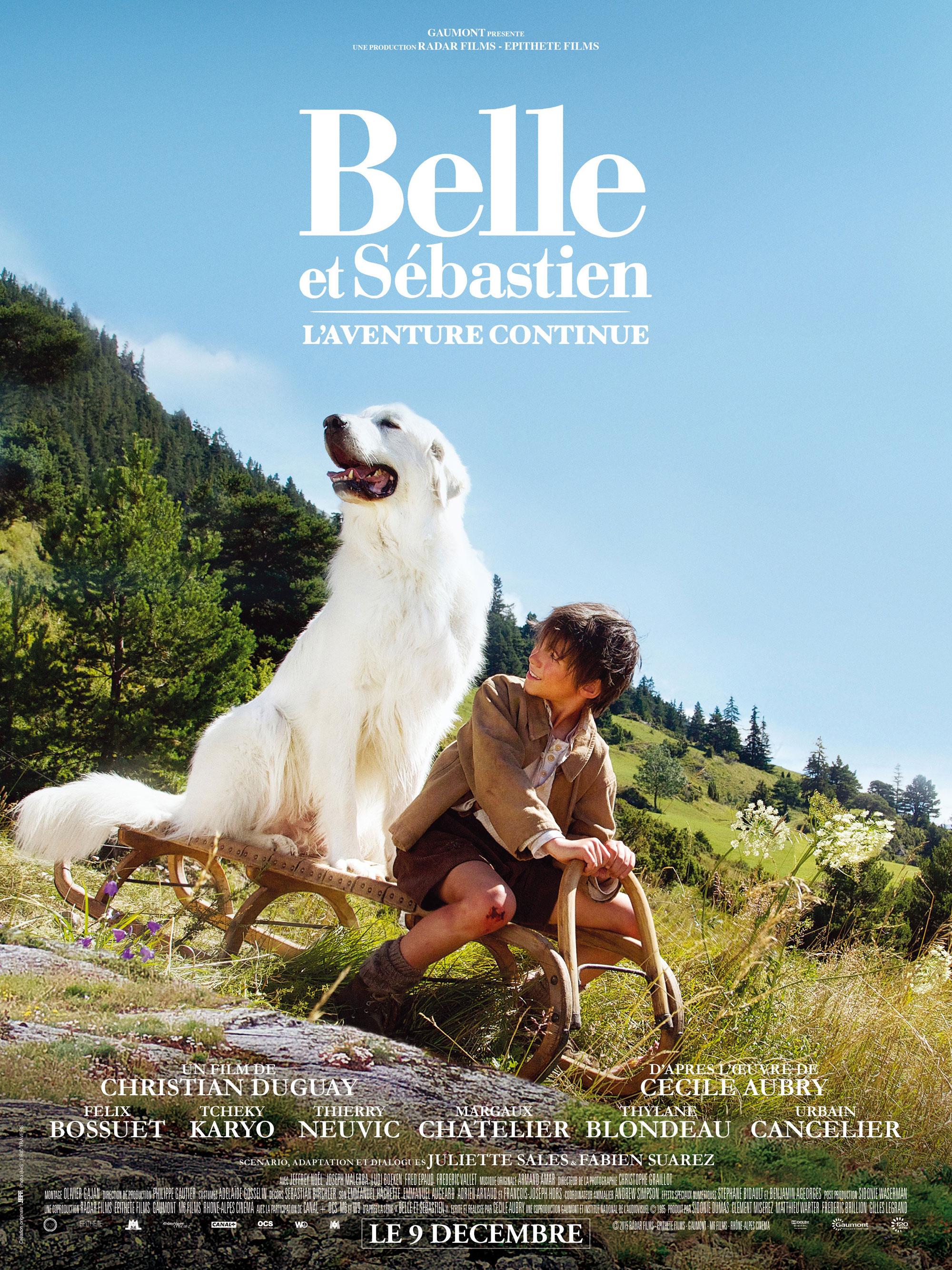 Belle et Sébastien 2 - Affiche