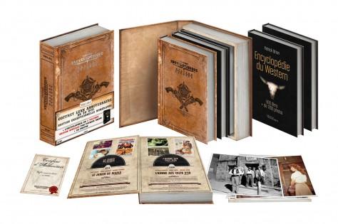 Coffret Westerns Sidonis - Box ouvert