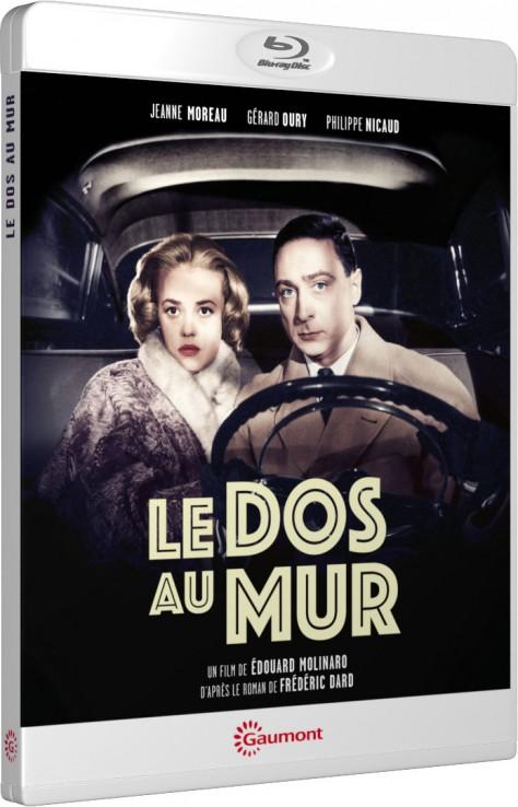 Le Dos au mur (Édouard Molinaro) - Packshot Blu-ray Gaumont Découverte