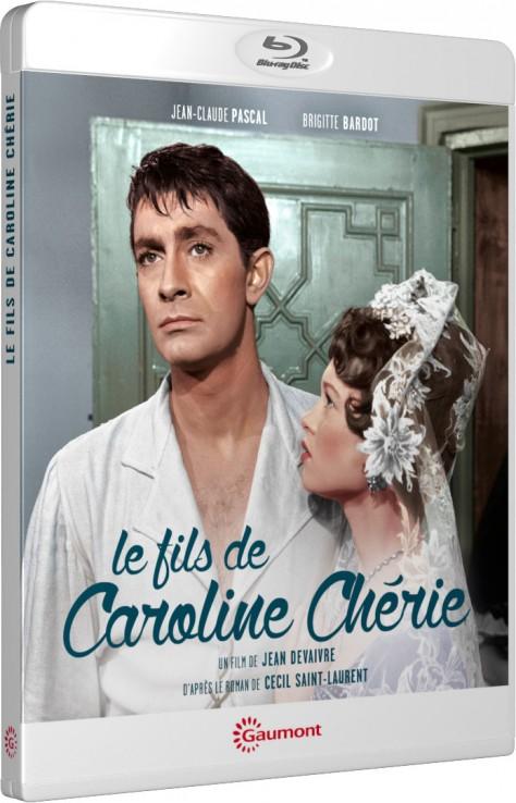 Le Fils de Caroline Chérie - Packshot Blu-ray Gaumont Découverte