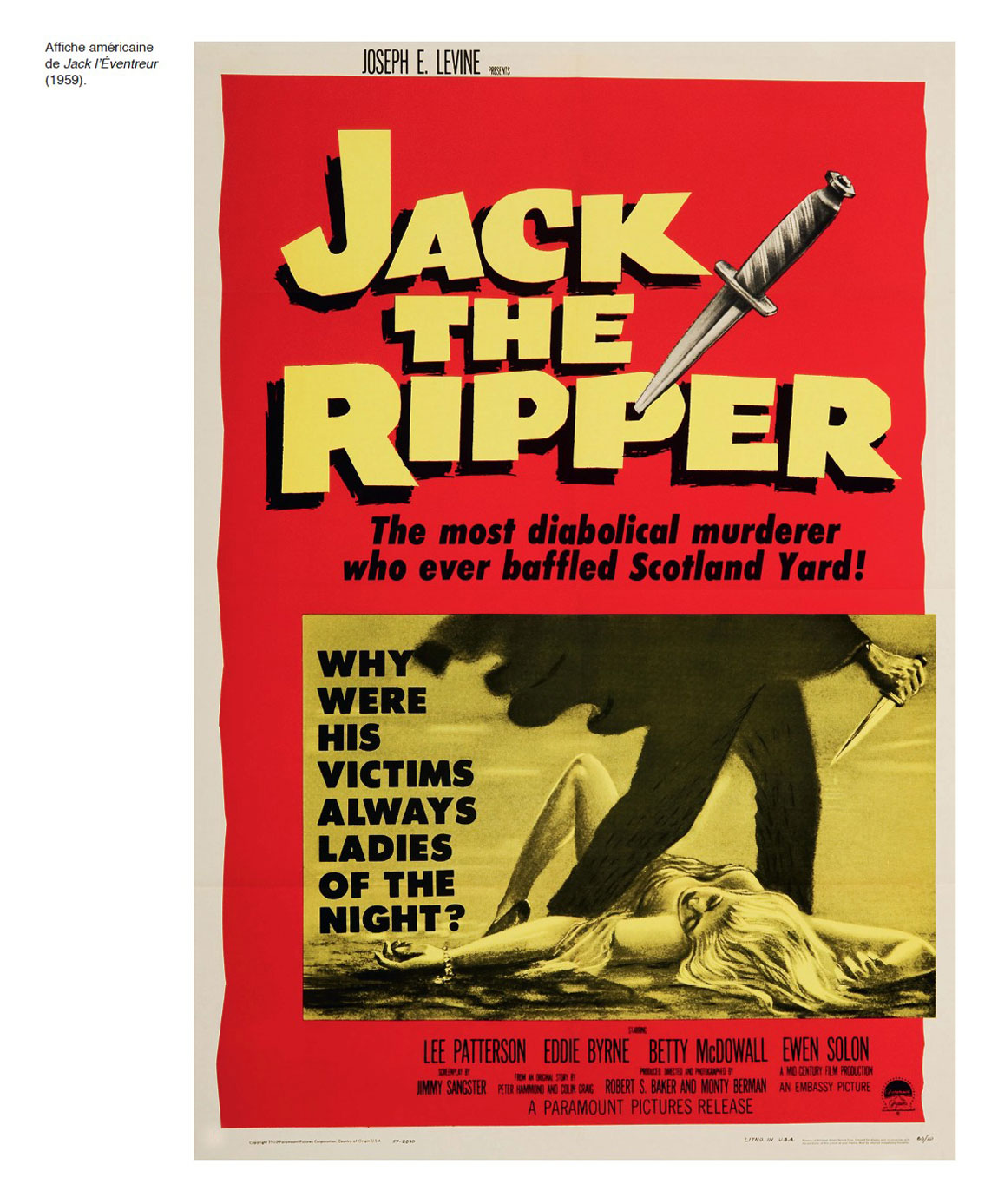 Jack The Ripper - Affiche US