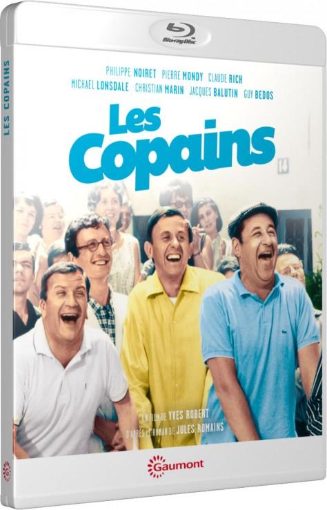 Les Copains (Yves Robert) - Packshot Blu-ray Gaumont Découverte