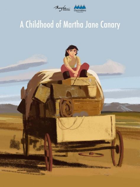 Une enfance de Martha Jane Canary - Tout en haut du monde