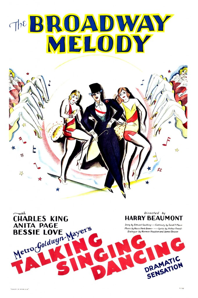 Broadway Melody - Affiche US