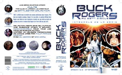 Buck Rogers - Jaquette Recto - verso