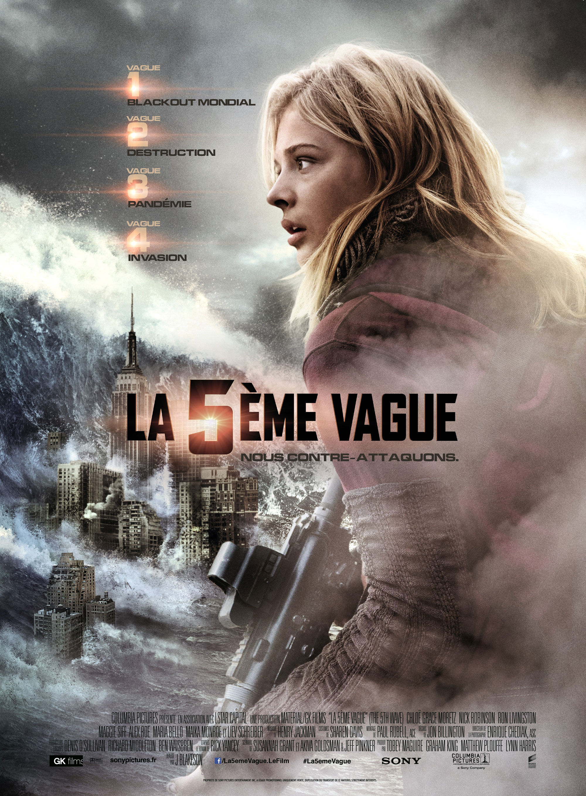 La 5ème vague - Affiche
