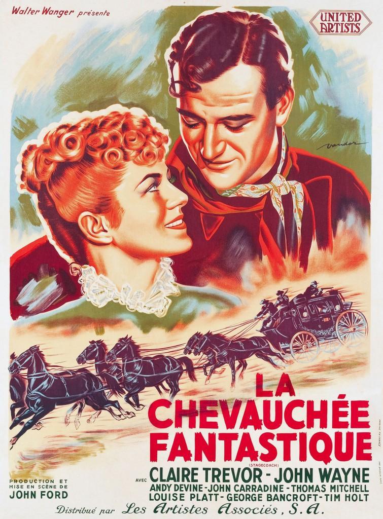 La Chevauchée fantastique - Affiche