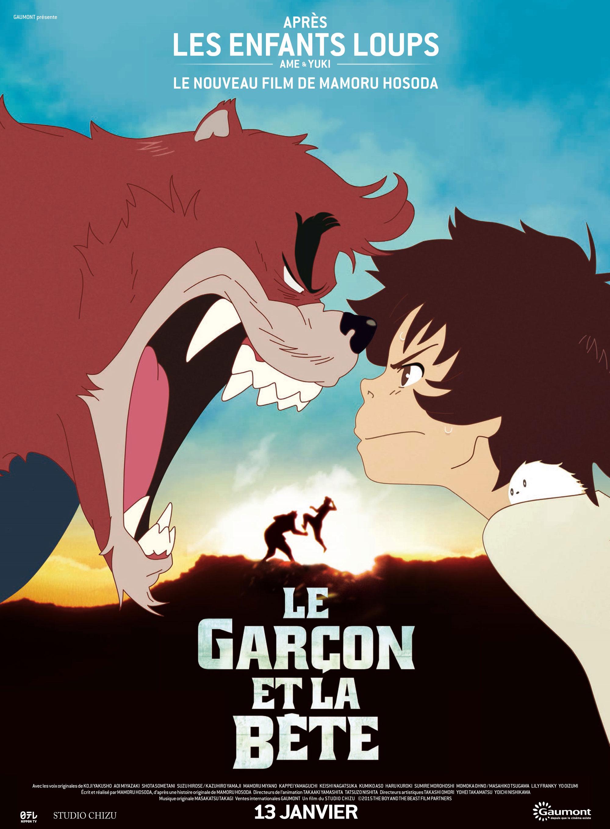 Le Garçon et la bête - Affiche pour Sorties Ciné