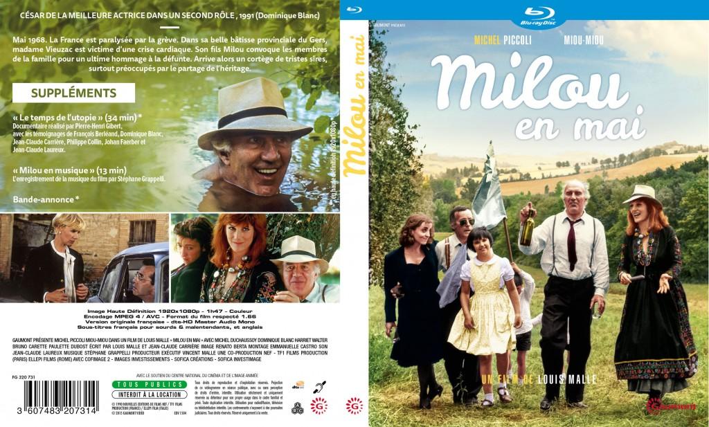 Milou en Mai - Jaquette - 2D Blu-ray