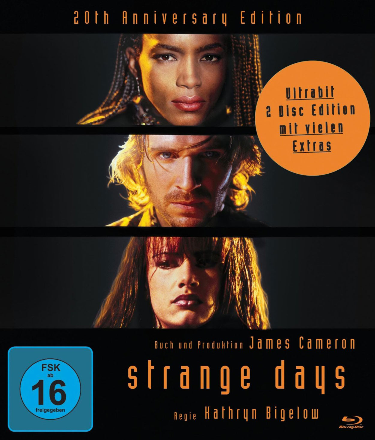 Strange Days - Cover Blu-ray allemand
