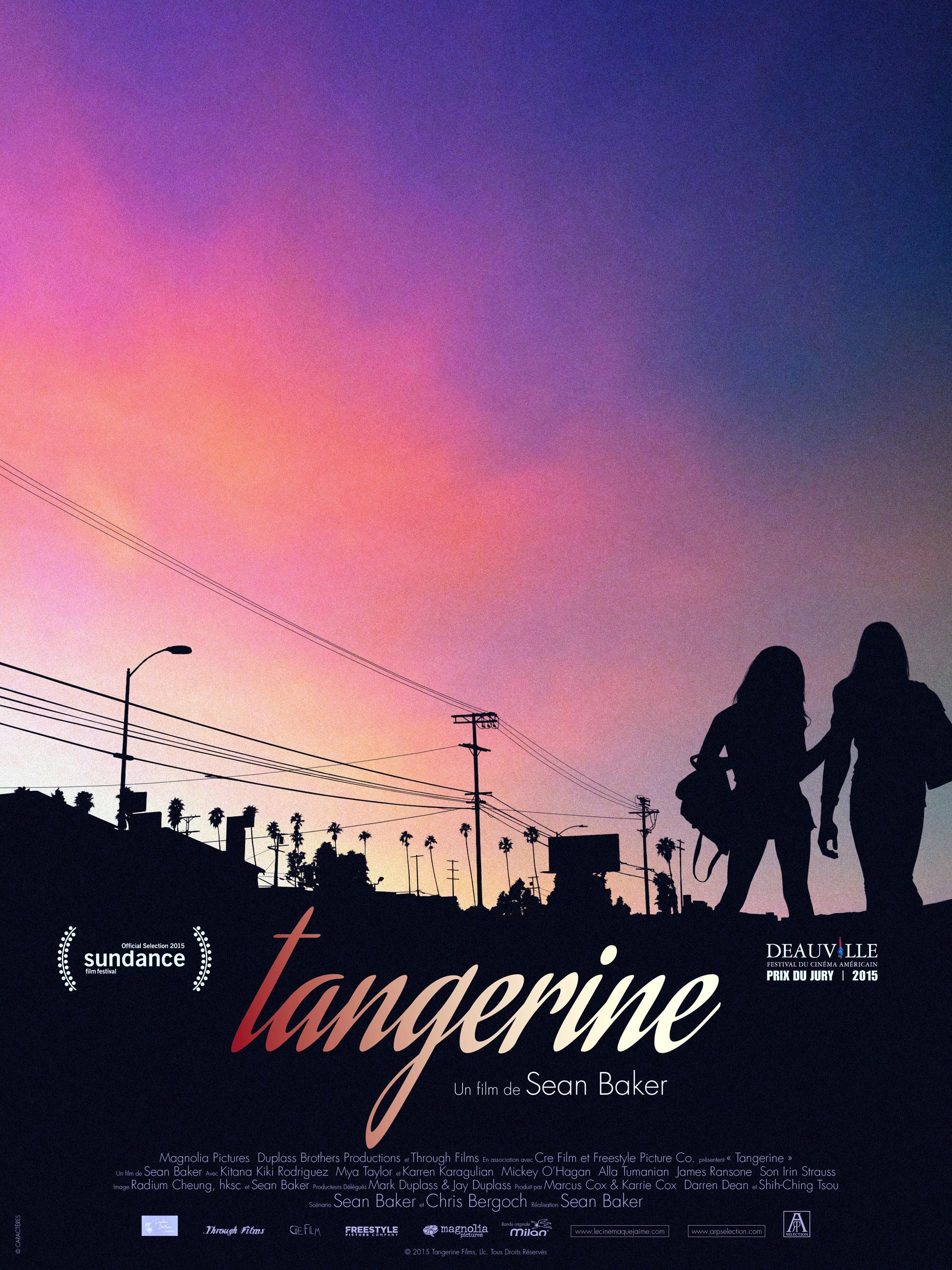 Tangerine - Affiche
