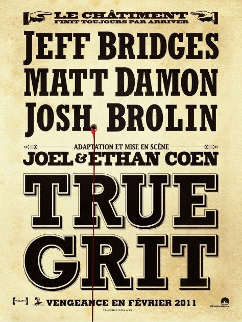 True Grit - Affiche 2011