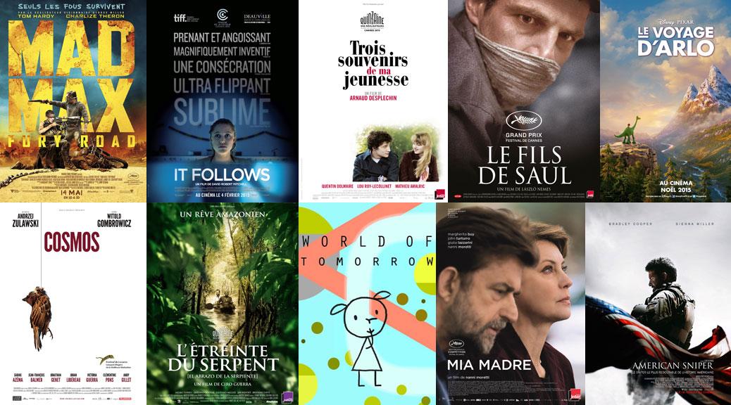 Une Top cinéma rédacteurs 2015