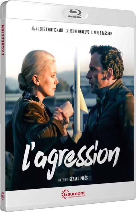 L'Agression - Packshot Blu-ray Gaumont Découverte