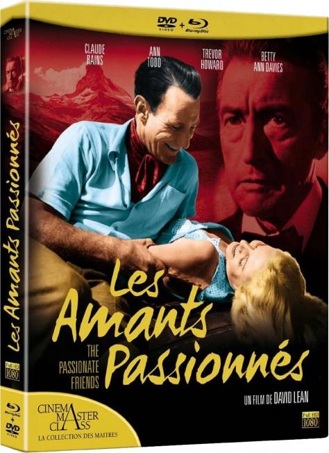Les Amants passionnés - Packshot Blu-ray