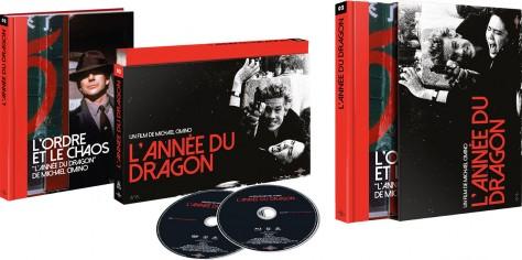 L'Année du dragon - Packshot Blu-ray