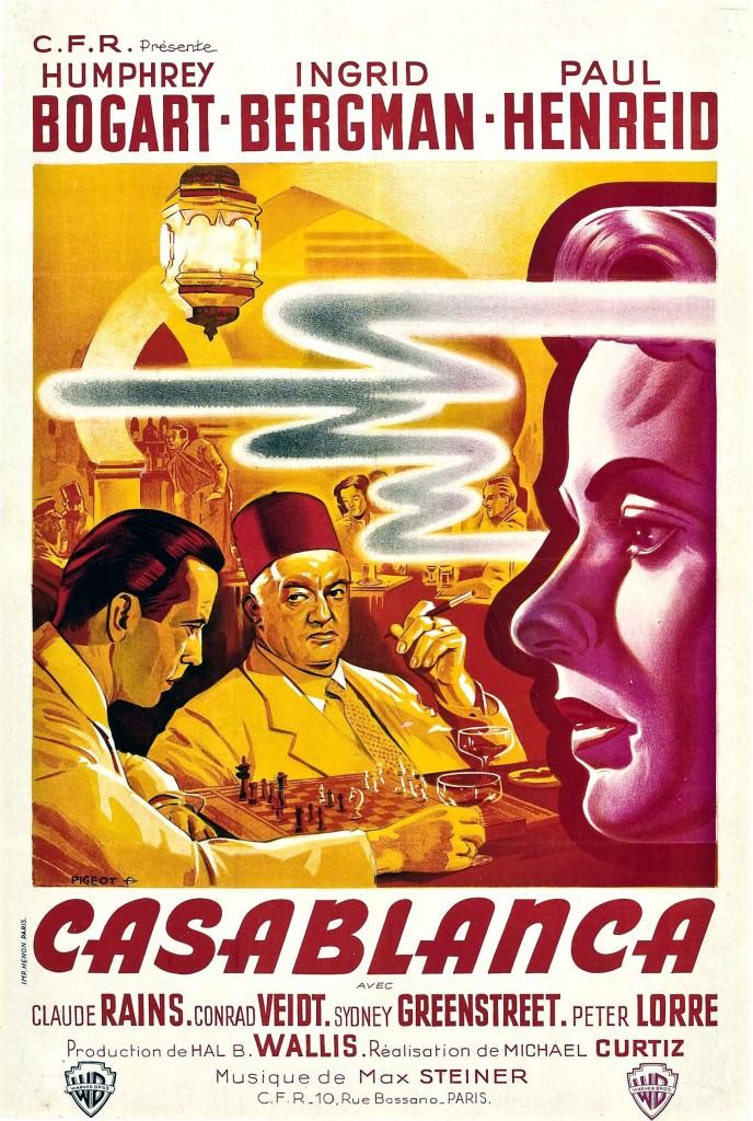 Casablanca - Affiche FR