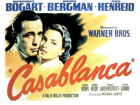 Casablanca - Affiche US
