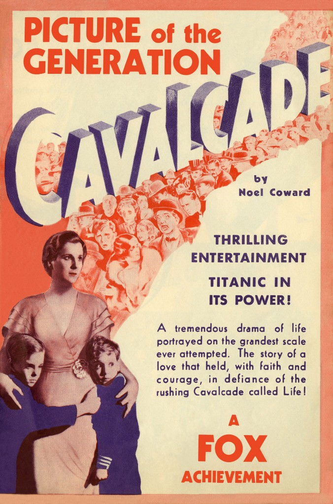 Cavalcade - Affiche US