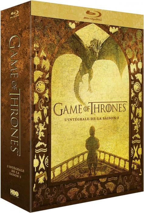 Game of Thrones - Saison 5 - Packshot Blu-ray