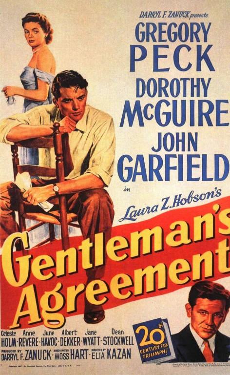 Gentleman's Agreement - Affiche US