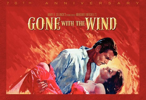 Gone With the wind - Recto Coffret 70ème anniversaire Bllu-ray