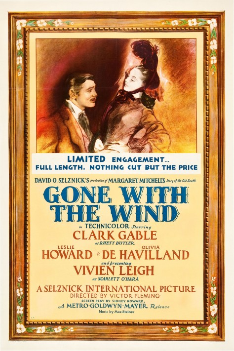 Gone With the wind - Affiche US