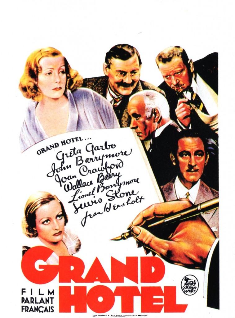 Grand Hotel - Affiche FR