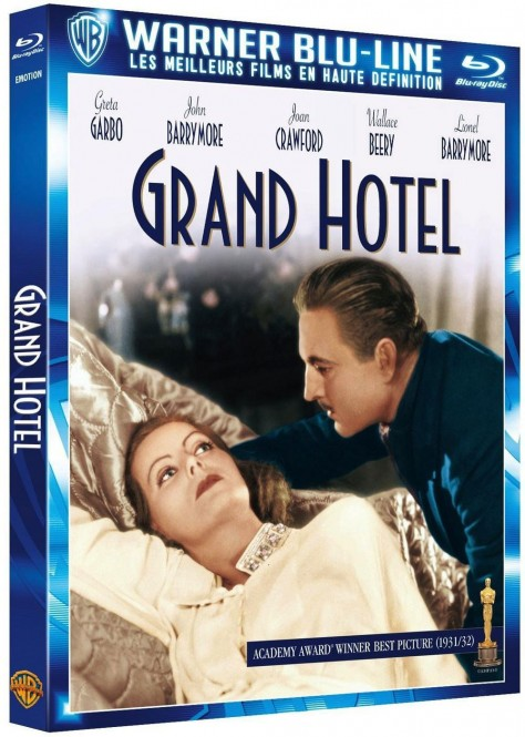Grand Hotel - Recto DVD France