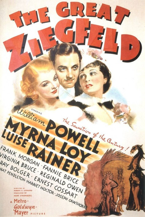 The Great Ziegfeld Affiche US