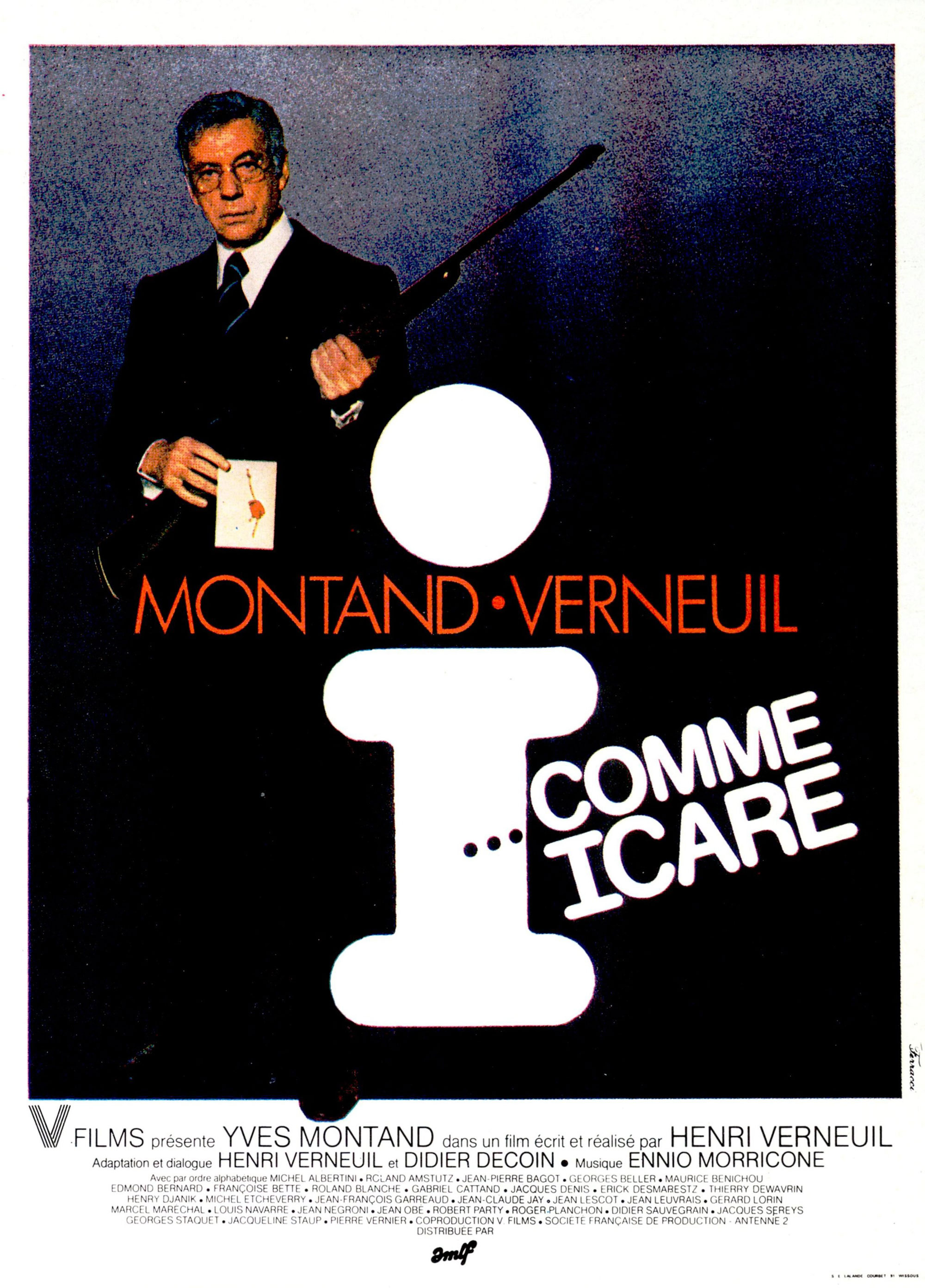 I Comme Icare... - Affiche