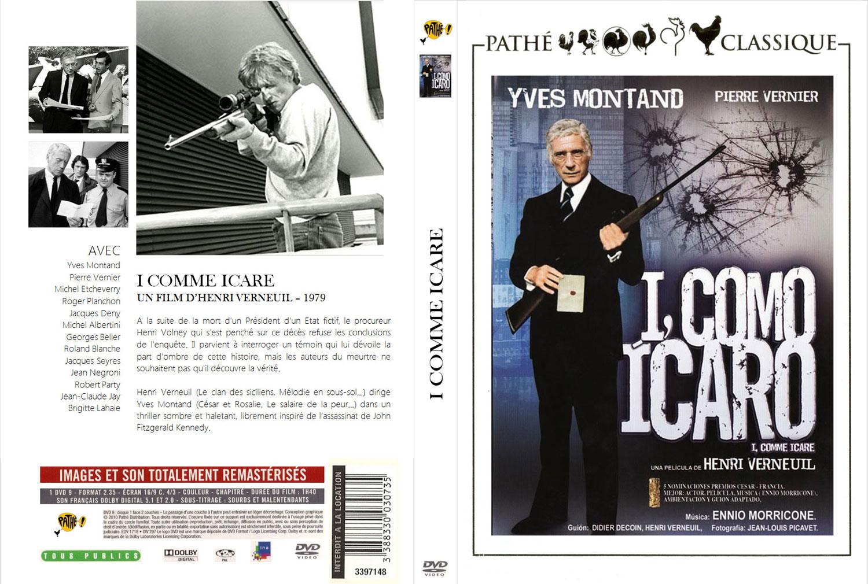 I Come Icare - Jaquette DVD fantasmée