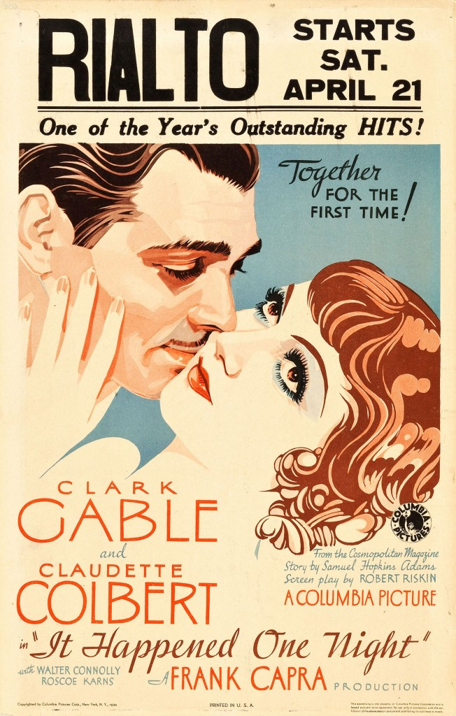It Happened One Night (New York-Miami) - Affiche US