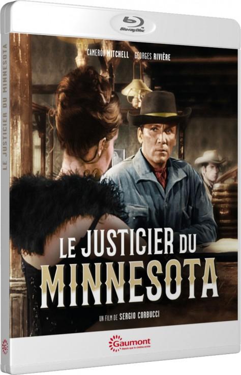 Le Justicier du Minnesota - Packshot Blu-ray Gaumont Découverte