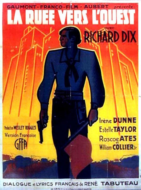 La Ruée vers l'Ouest - 1932
